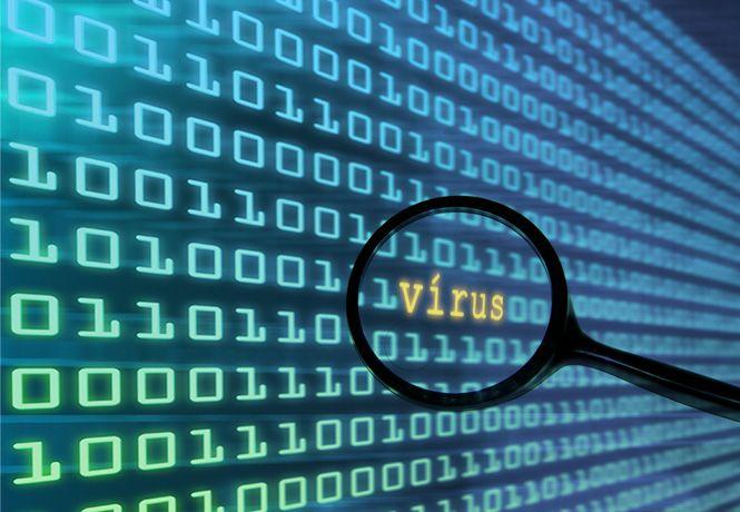 Busca por vírus