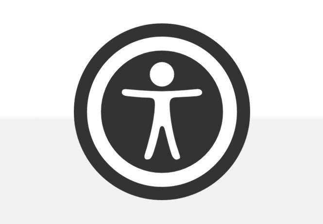 Ícone de acessibilidade