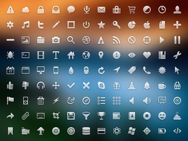 Ilustração dos ícones de Brocolli Dry Icons